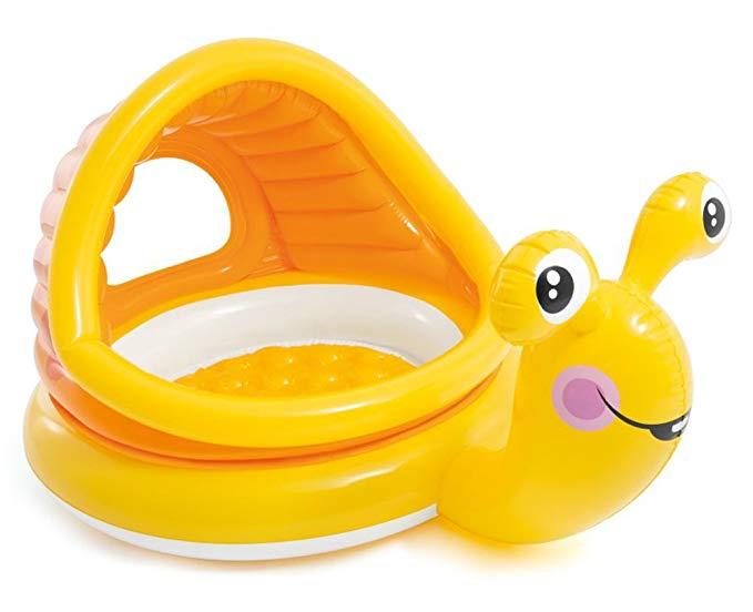 Intex 57124 baby snail pool with sunshade, 57