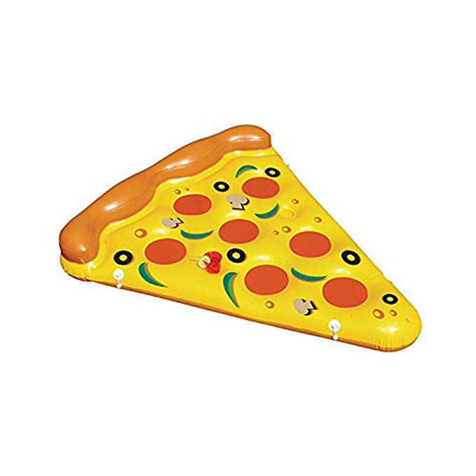 Inflatable Pizza- Giant Inflatable Pizza Slice, 6 Foot by 5 Foot Realistic Pool Float for People of All Ages, a Joyfay Product