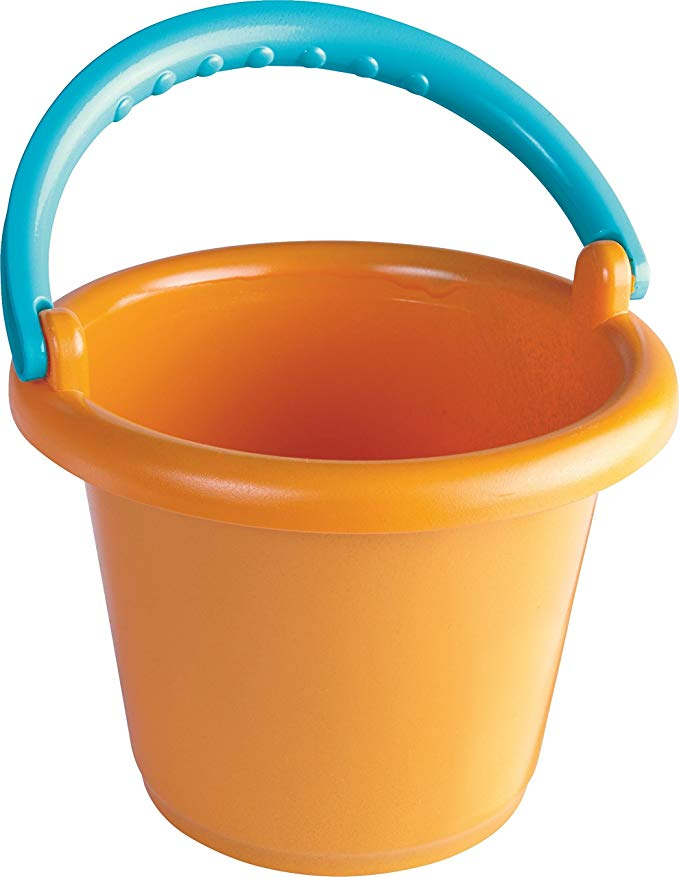 HABA Infant Sand Bucket with Robust Handle Made Especially for Toddler's Hands to Grip & Carry