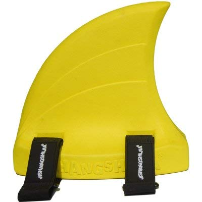 SHARK FIN SWIMMING AID FOR KIDS WITH SWIM GOGGLES Bundle (YELLOW) by Echelon