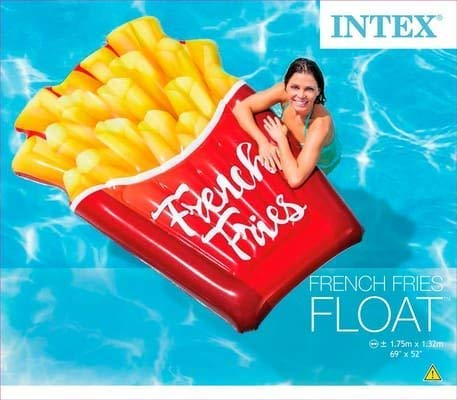 Intex French Fries Float 69