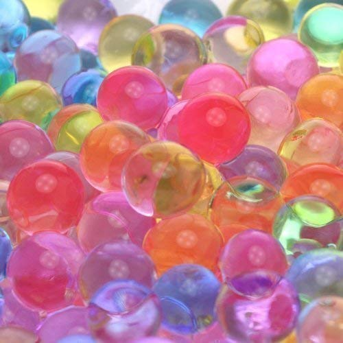 JellyBeadZ Brand Two Pound Rainbow Mix Water Beads,Crystal Water Gel For Kids Tactile Sensory Toys, Bulk refill, Stress Balls...Special Shipping Price... $3.00