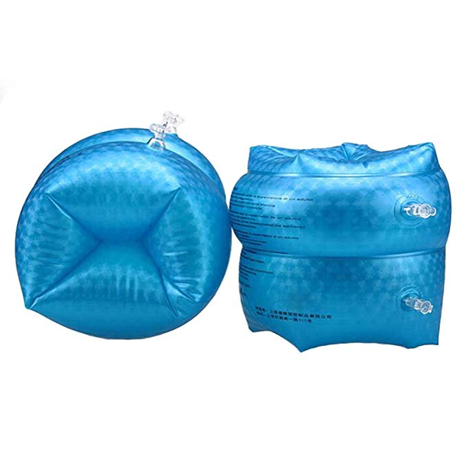 AiLike Inflatable Swim Arm Bands Water Wings for Kids Children Adults