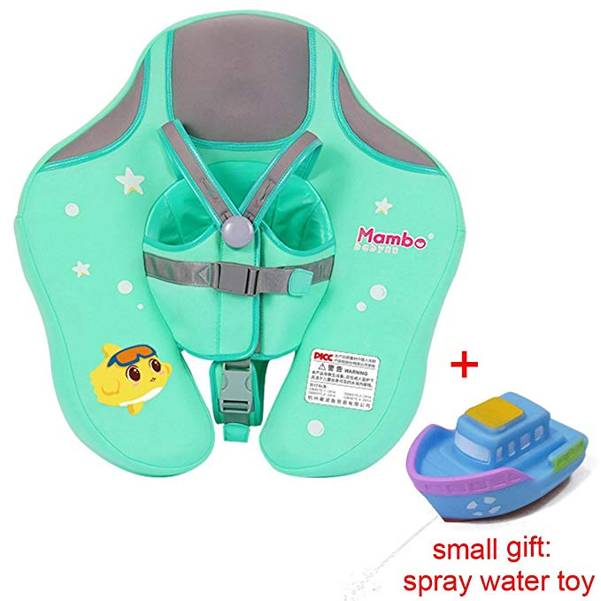 V Convey Baby Infant Soft Solid Non-Inflatable Lying Swimming Float Ring Children Waist Float Ring Non-Inflatable Floats Pool Toys Swimming Pool Accessories Swim Trainer Classic Swim Ring
