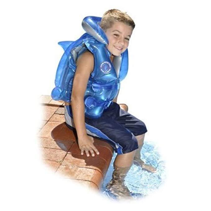 Swimline Swim with The Dolphins Inflatable Life Vest
