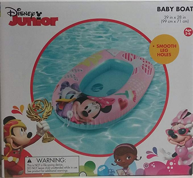 Disney Junior Minnie Mouse And Daisy Baby Boat
