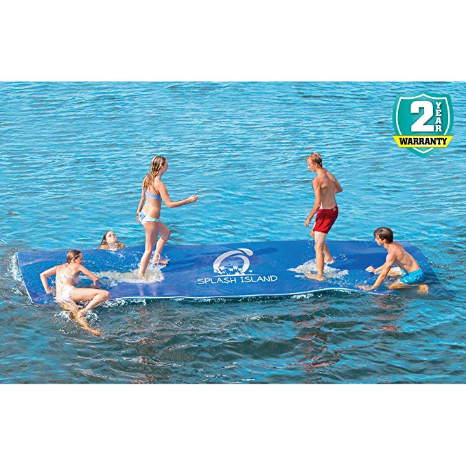 Experience the Best Summer Water Adventure with Overton's Splash Island, 18'L x 6'W