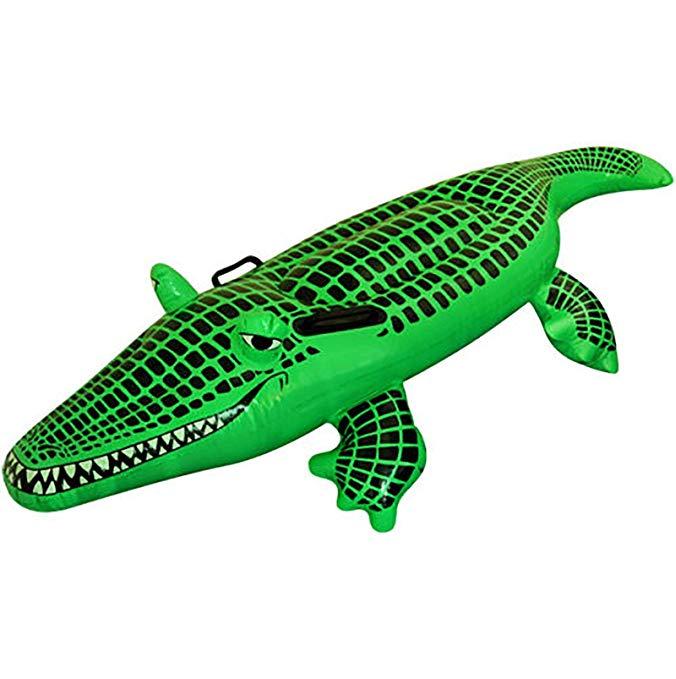 Henbrandt 150cm Inflatable Crocodile