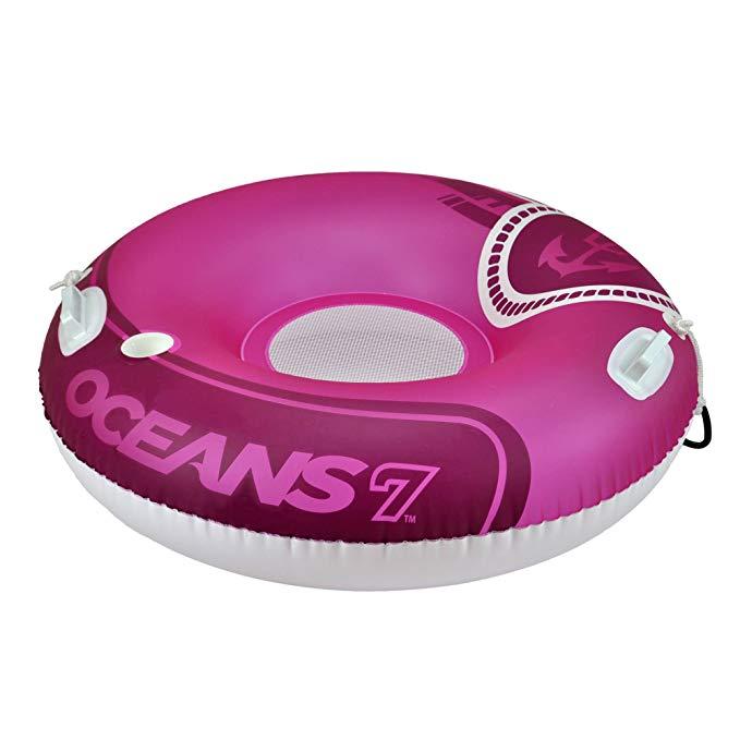 Oceans7 Round River Raspberry Tube Mesh Seat