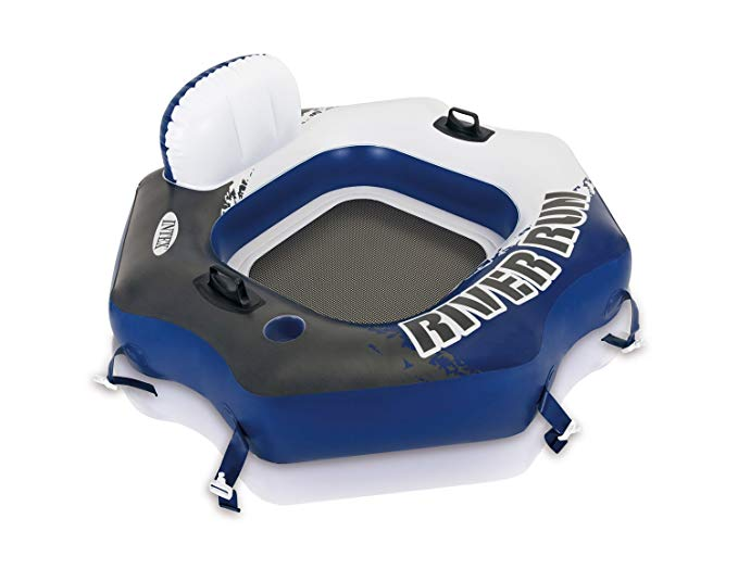 Intex River Run Connect Lounge Inflatable Floating Water Tube | 58854EP