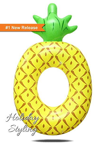 Holiday Styling Inflatable Pineapple Pool Float Giant By