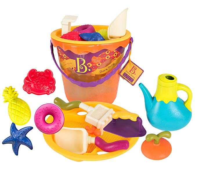 B. Shore Thing Large Bucket Set (Papaya)