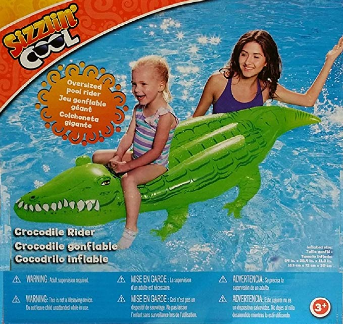 Sizzlin' Cool Animal Rider - Crocodile