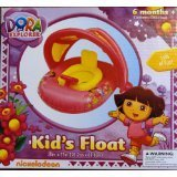 DORA THE EXPLORER KIDS FLOAT WITH CANOPY
