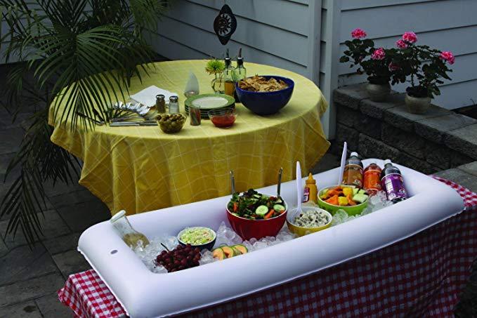 Inflatable Portable Salad Buffet Service Bar BPA Free, 52