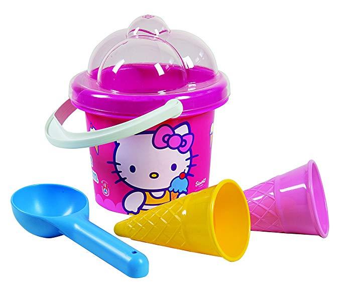 Androni Hello Kitty Ice Cream Sand Toy Beach Set (5-Piece)