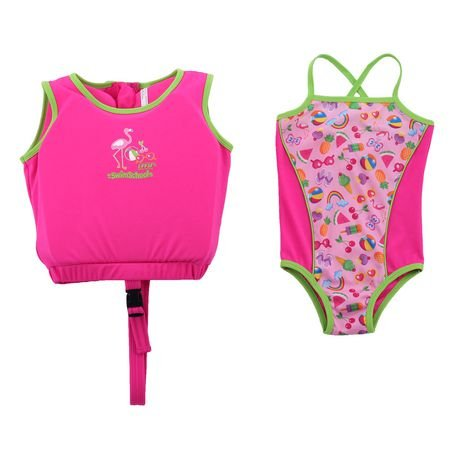 Swim School Girl's 2-Piece Swim Trainer