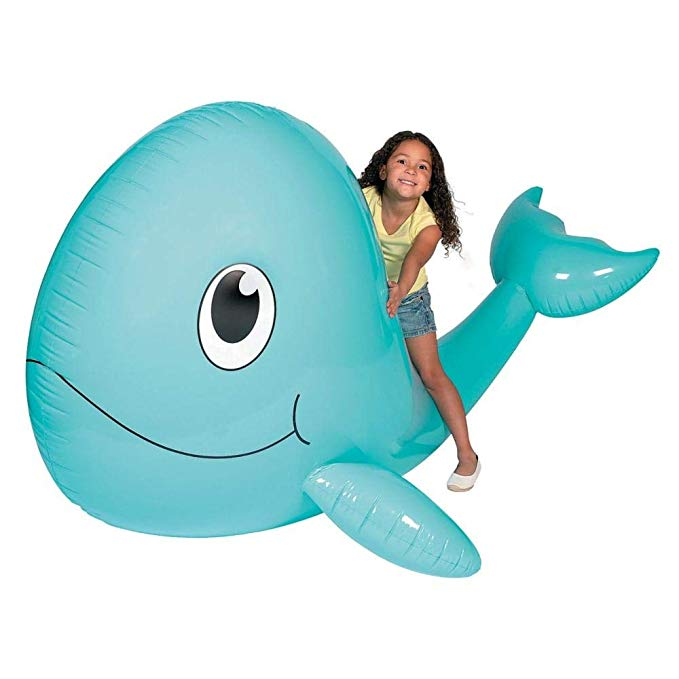 Giant Inflatable Whale. 6 ft. x 54