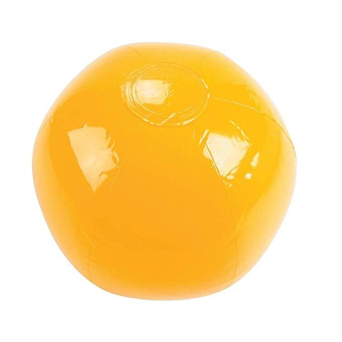 YELLOW BEACH BALL 14