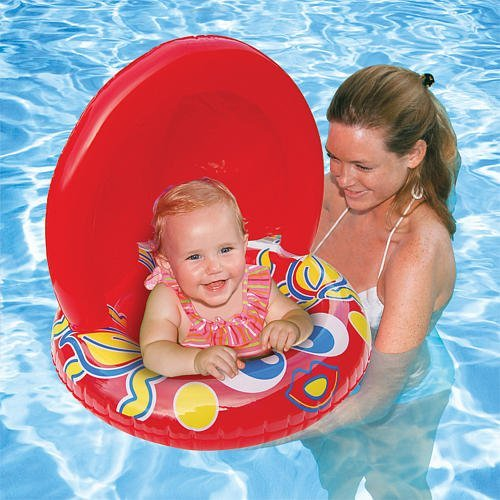 Aqua Leisure Fish Baby Float 50+ UPF Sun Protection