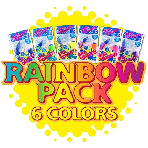 Big Squirt!® Rainbow 6 Pack