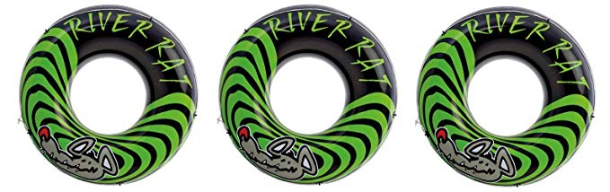 3-Pack Intex River Rat 48-Inch Inflatable Tubes For Lake/Pool/River   3 x 68209E