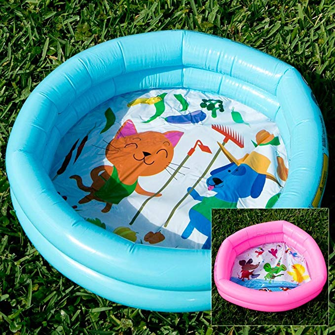 Q.J. Import, Inc Mini Inflatable Duck Pond Pool