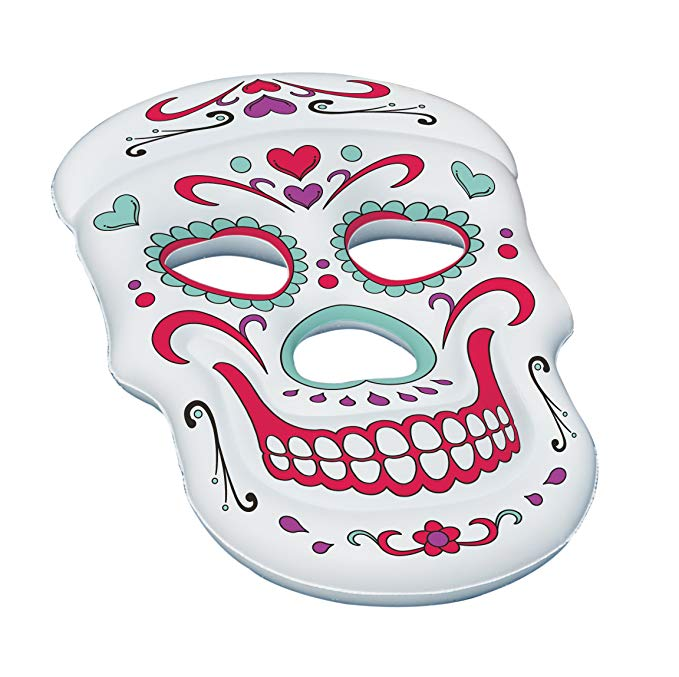 Swimline Sugar Skull Pool Float