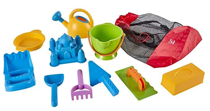 Hape Toys Ancient Taj Mahal Beach Sand Toy Set