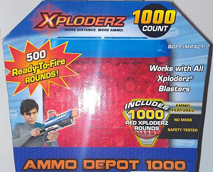 Xploderz Ammo Depot 1000 (Red)